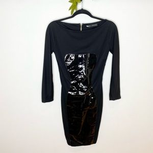 DSquared2 Long Sleeve Bodycon Dress